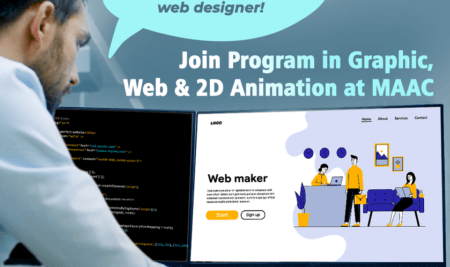 Join Program in Graphic, Web & 2D Animation at MAAC Dunlop