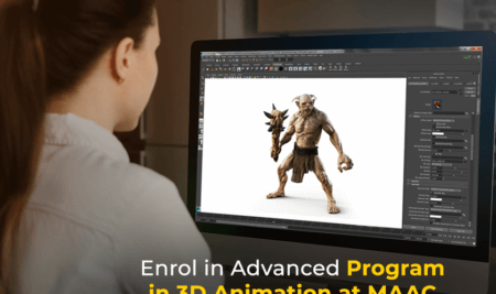 Advanced Program in 3D Animation at MAAC Dunlop